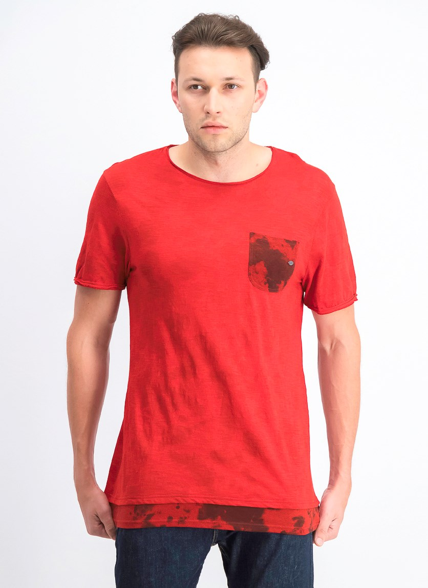 Men's Katop Short Sleeves Top, Garnet