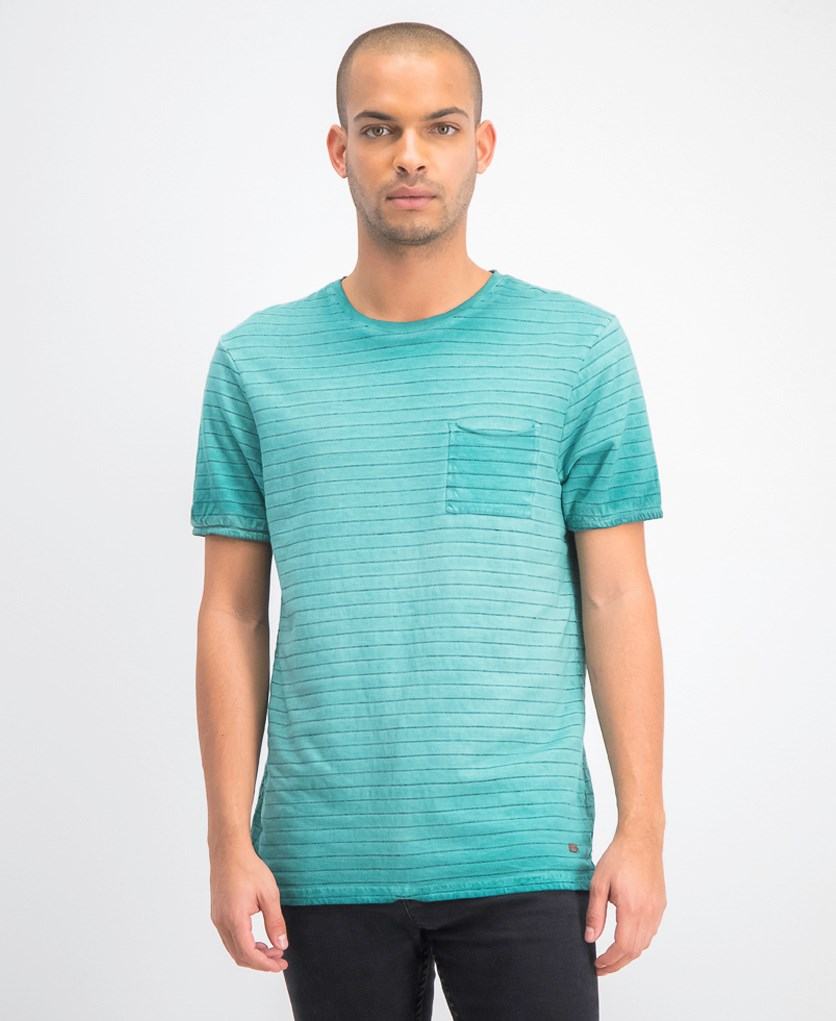 Men's Kolight Short Sleeves Top, Blue Turquoise