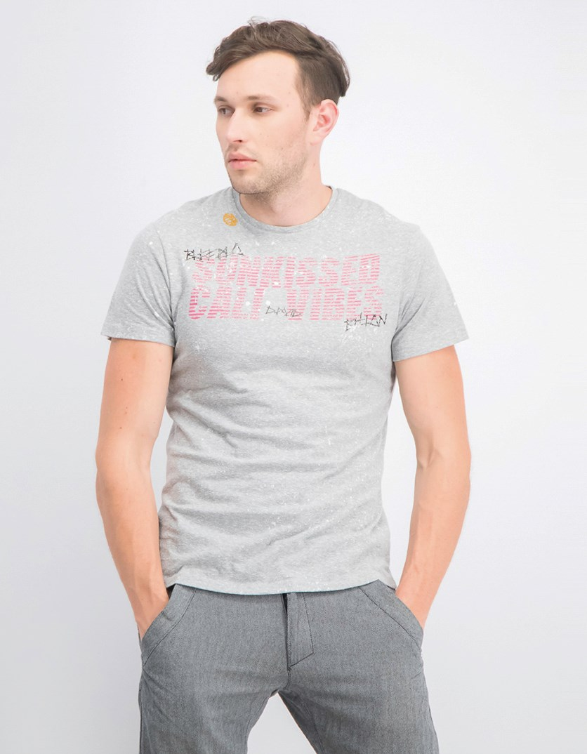 Men Tishore T-Shirt, Heather Grey