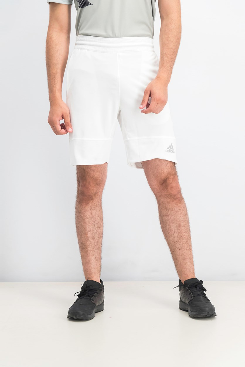 Men's ClimaLite Logo Shorts, White