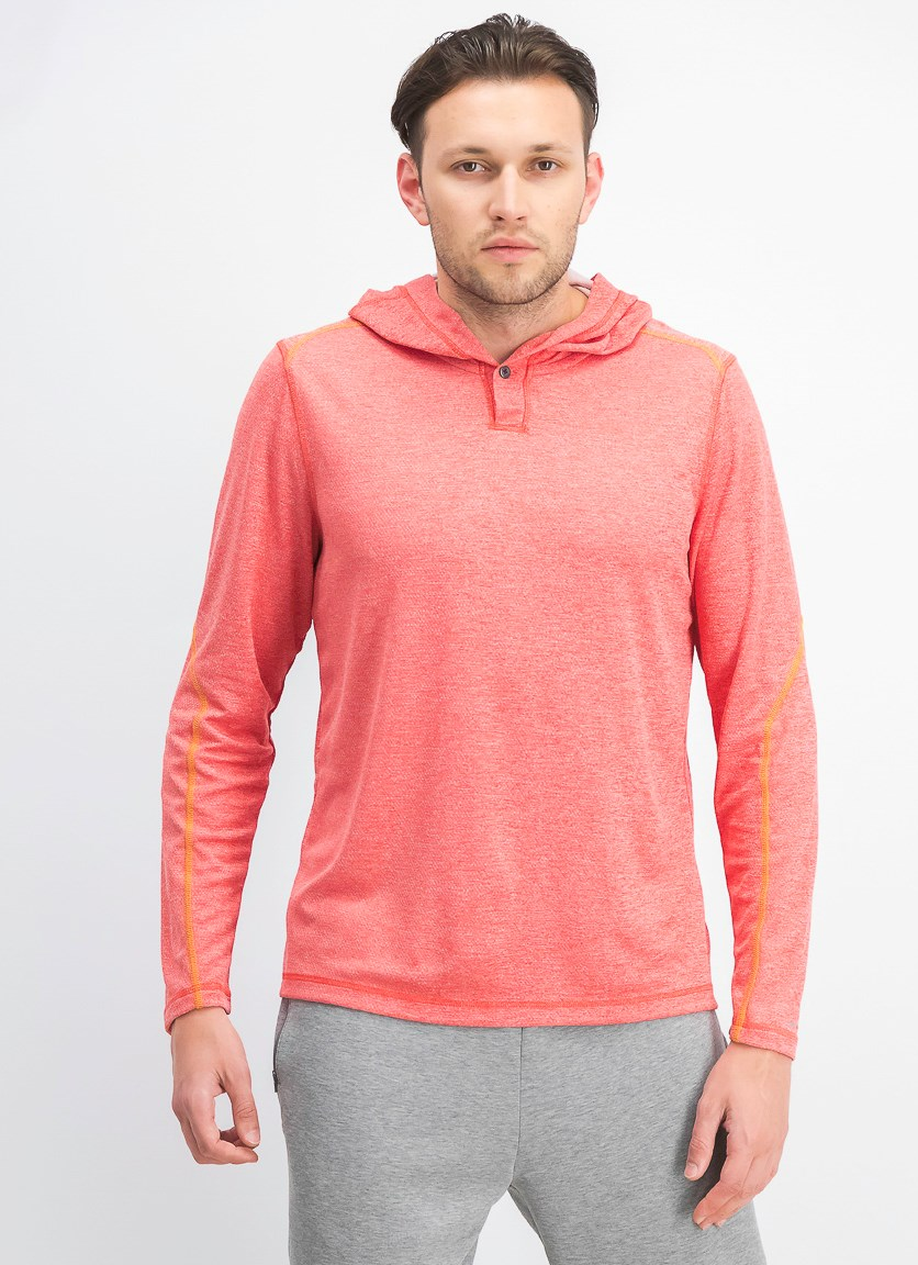 Men's Honeycomb Sweatshirt, Baked Apple