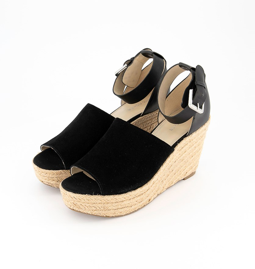 Women's Cala Platform Wedge Sandals, Black