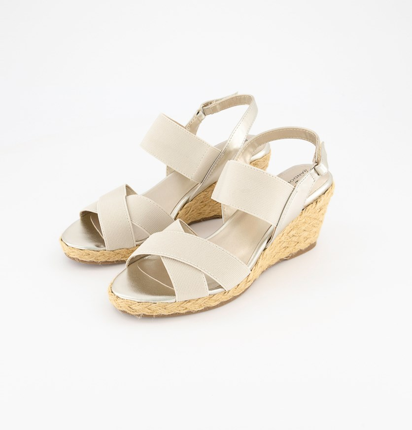 Women's Hearsay Wedge Sandal, Gold