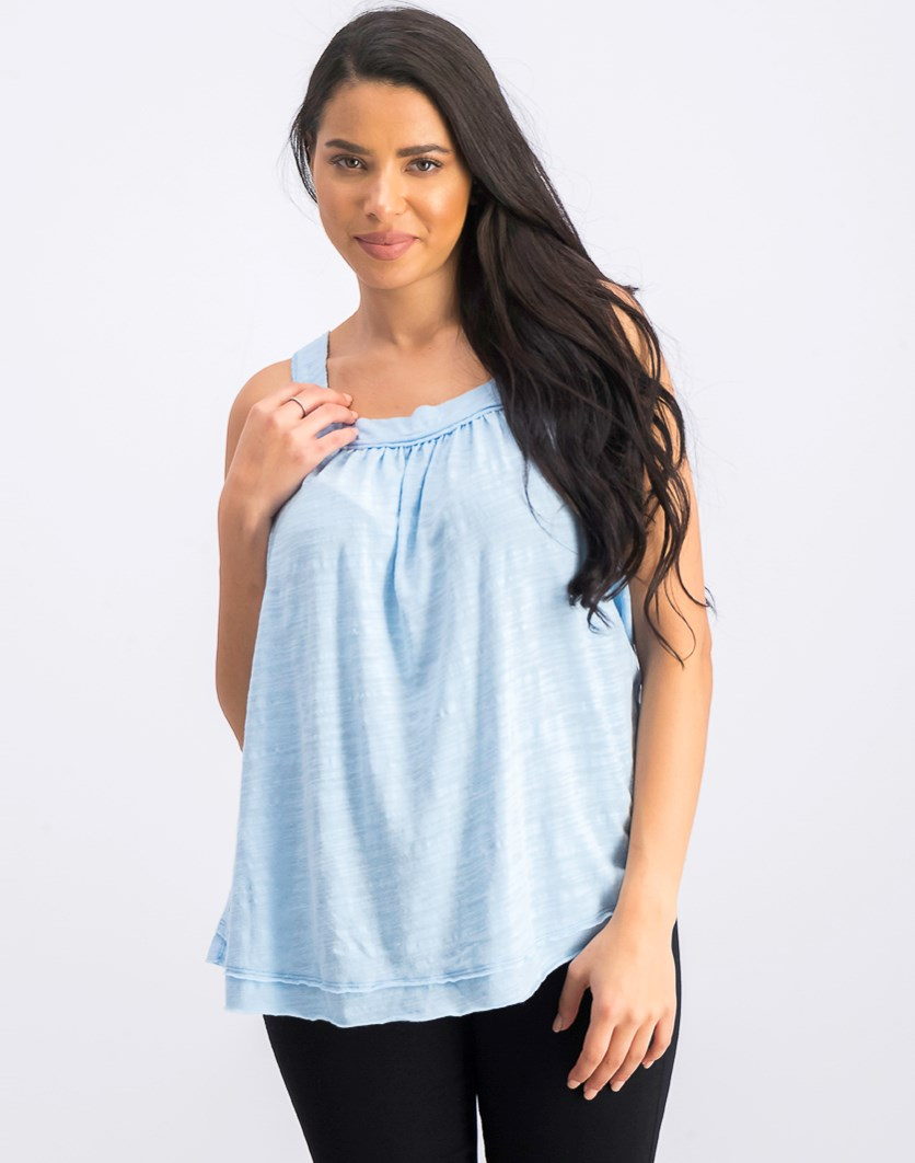 Women's Good For You Tank, Blue