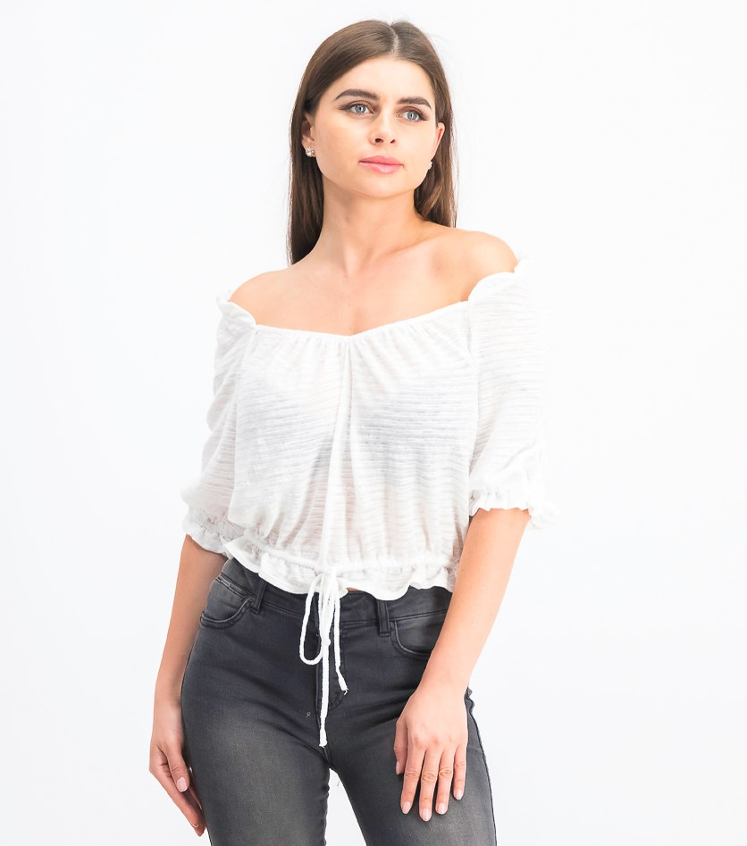 Women's Dorothy Top, White