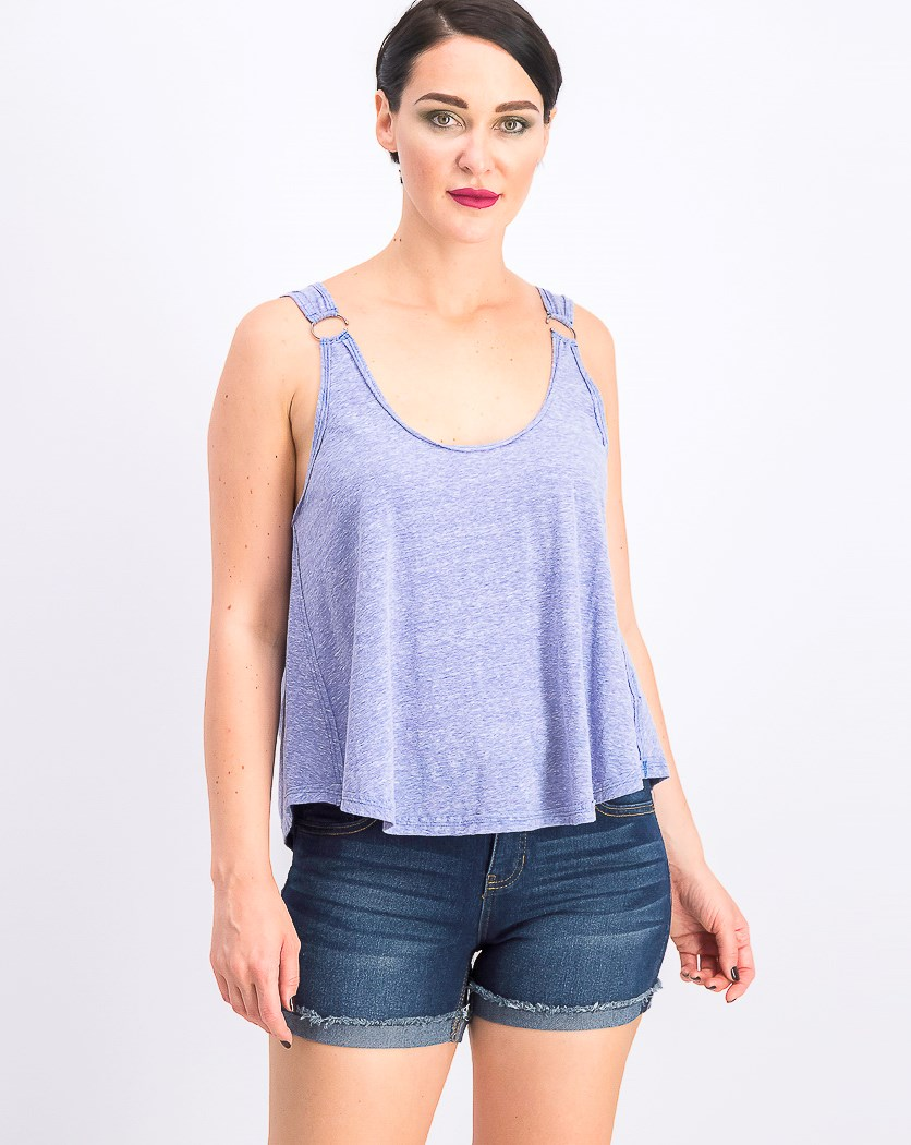 Women's Carly Tank Top, Brilliant Cobalt