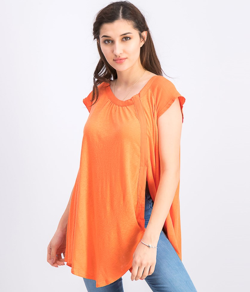 Women's Keep It Casual T-Shirt, Coral Coast