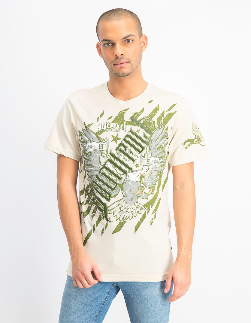 Men's Short Sleeve Graphic T-Shirt, Bone