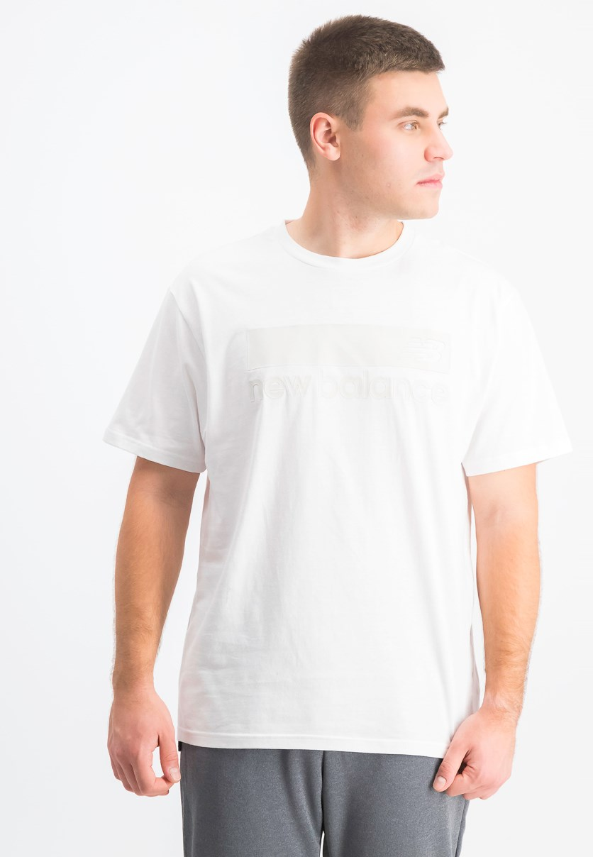 Men's Crew Neck Shirt, White
