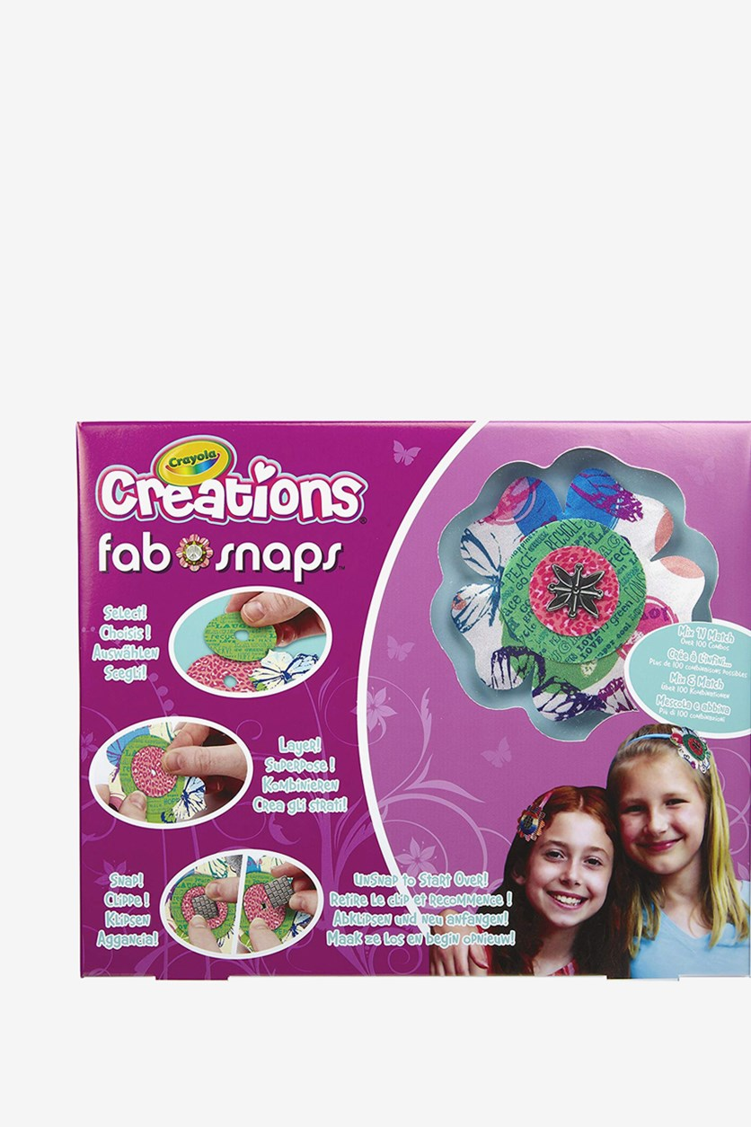 Creations Fab Snaps, Pink Combo