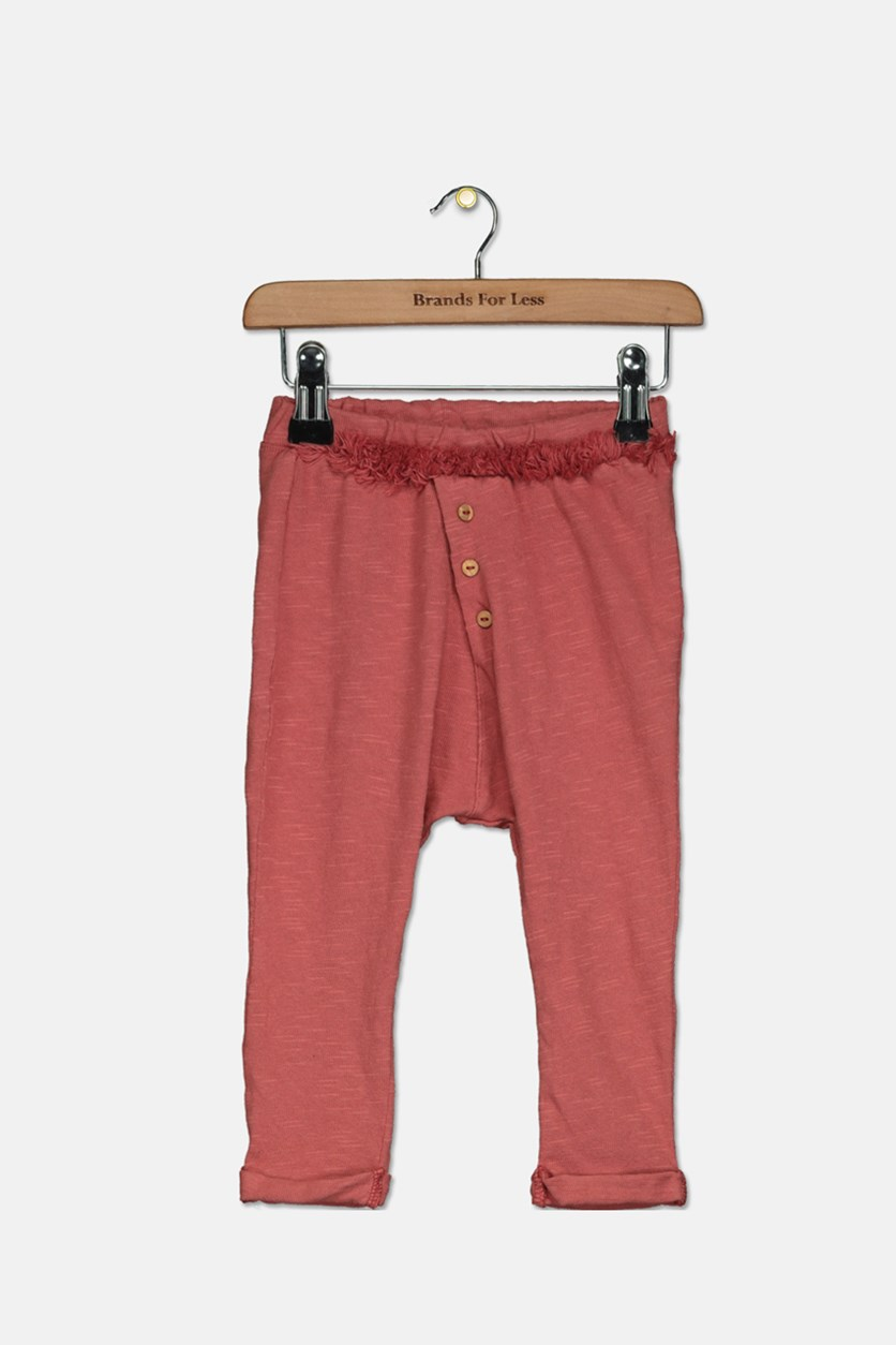 Baby Girl's Pencil Pants, Brown
