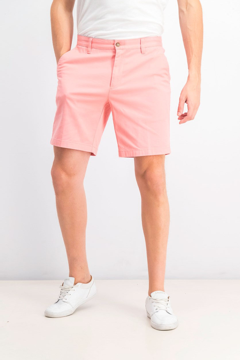Men's Stretch Deck Short, Pink Shrimp