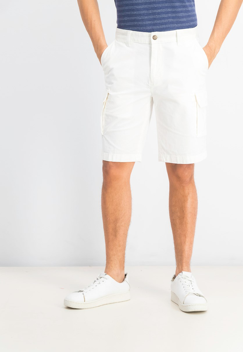 Men's New Navigator Cargo Short, Marshmallow