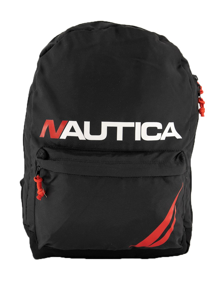 Unisex Polyester Lightweight Backpack with Padded Laptop Sleeve, Black