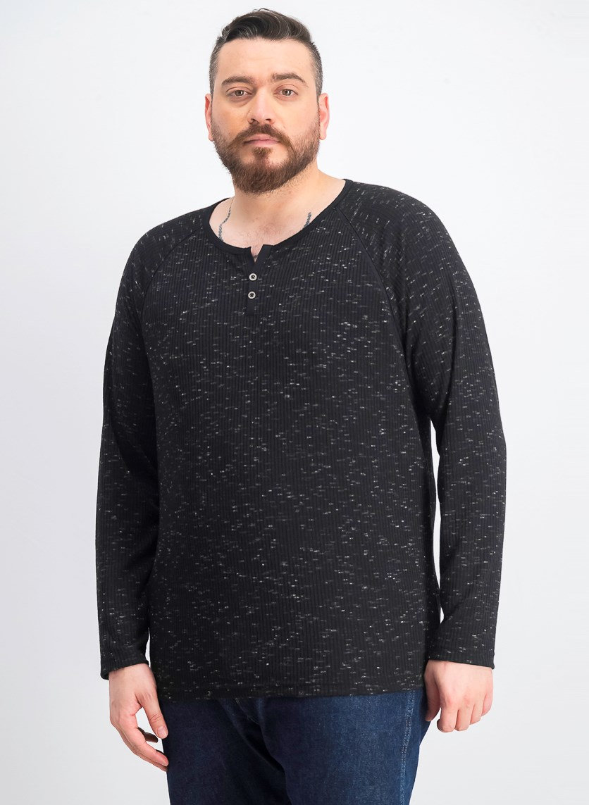 Men's Jam Shirt, Deep Black