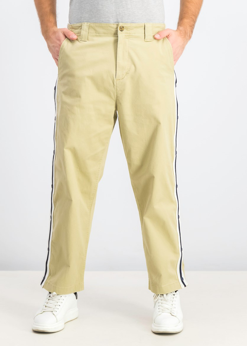 Men's Davis Stripe Pants, Natural