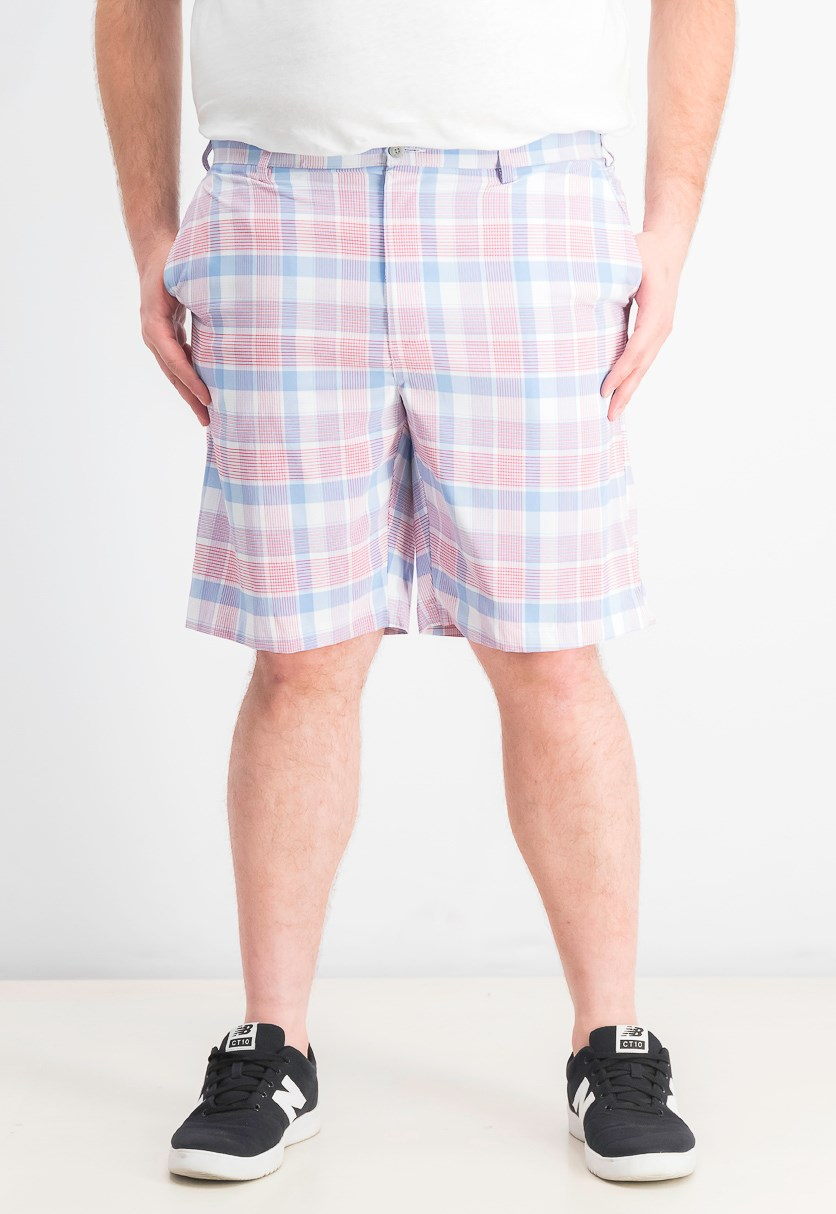 Men's Plaid Shorts, Regatta Heather