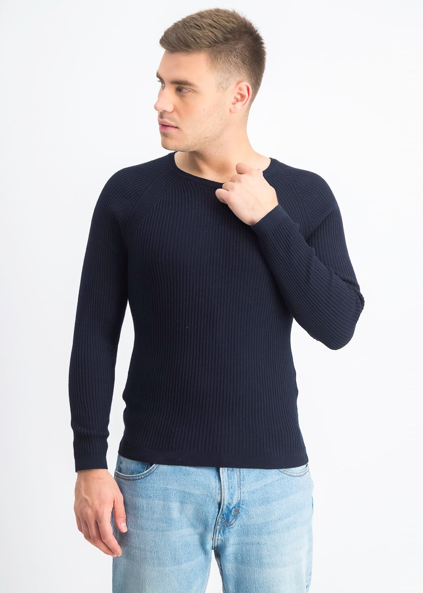 Men's Anime Sweater, Basic Navy