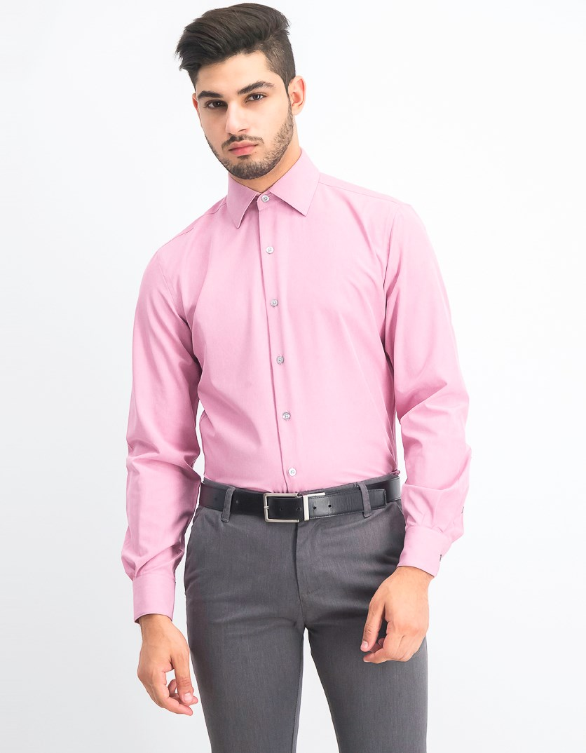 Men's AlfaTech Fitted Performance Stretch, Pink