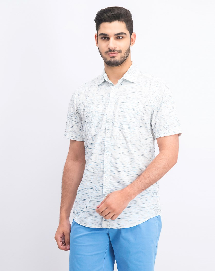 Men's Clarence Shirt, White Pure