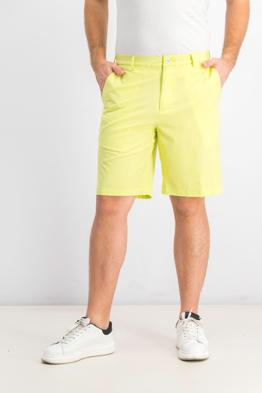 Men's Fuego Stretch Shorts, Lime green