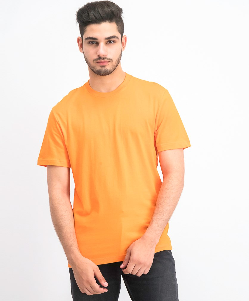 Men's Performance Crew Neck T-Shirt, Exotic Orange