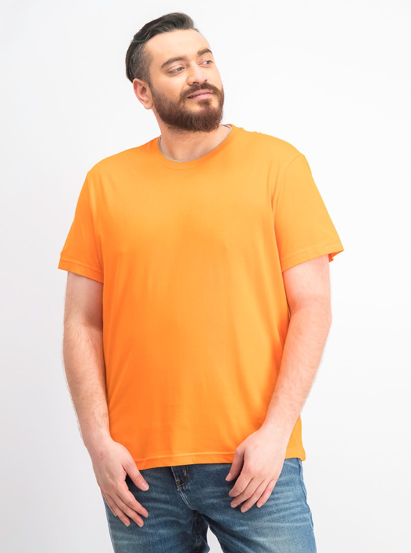 Men's Crew Neck T-Shirt, Exotic Orange