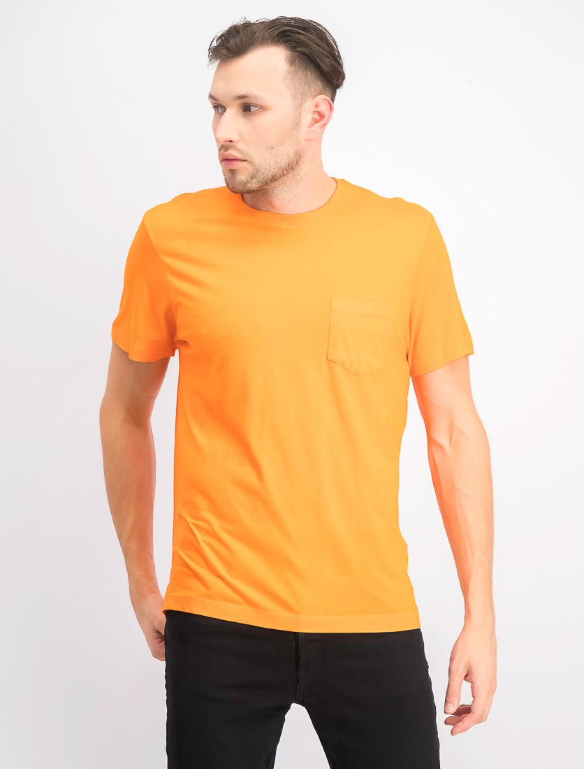 Men's Performance Pocket T-Shirt, Exotic Orange