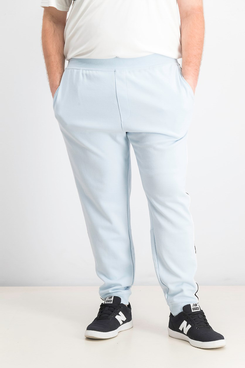 Men's Sport Stripe Joggers, Cool Dusk