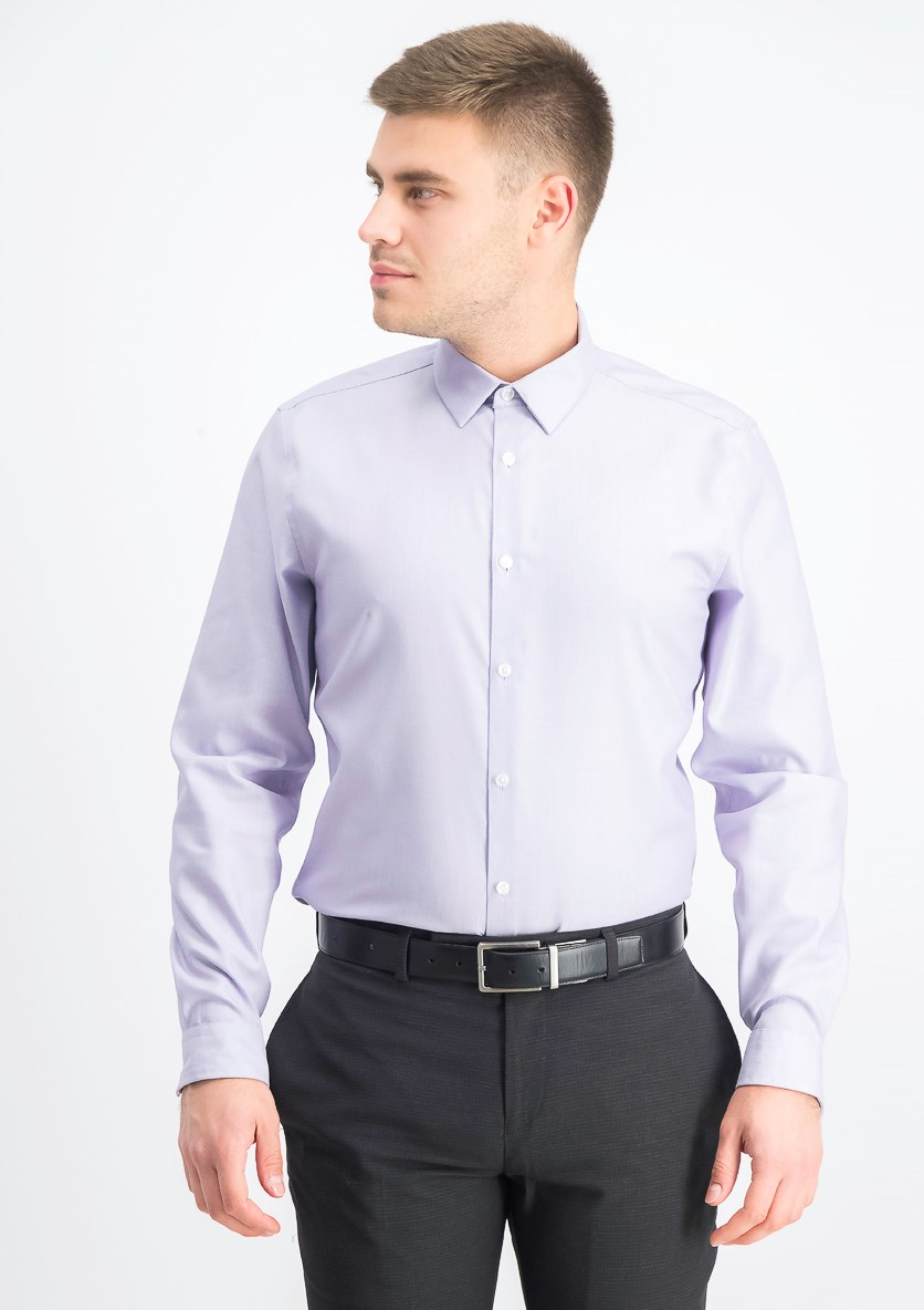 Men's Kurt Non-Iron Shirt, Lavender