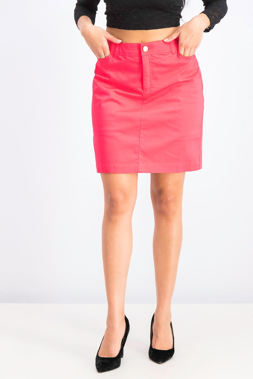 Women's Mini Skirt, Pure Pink
