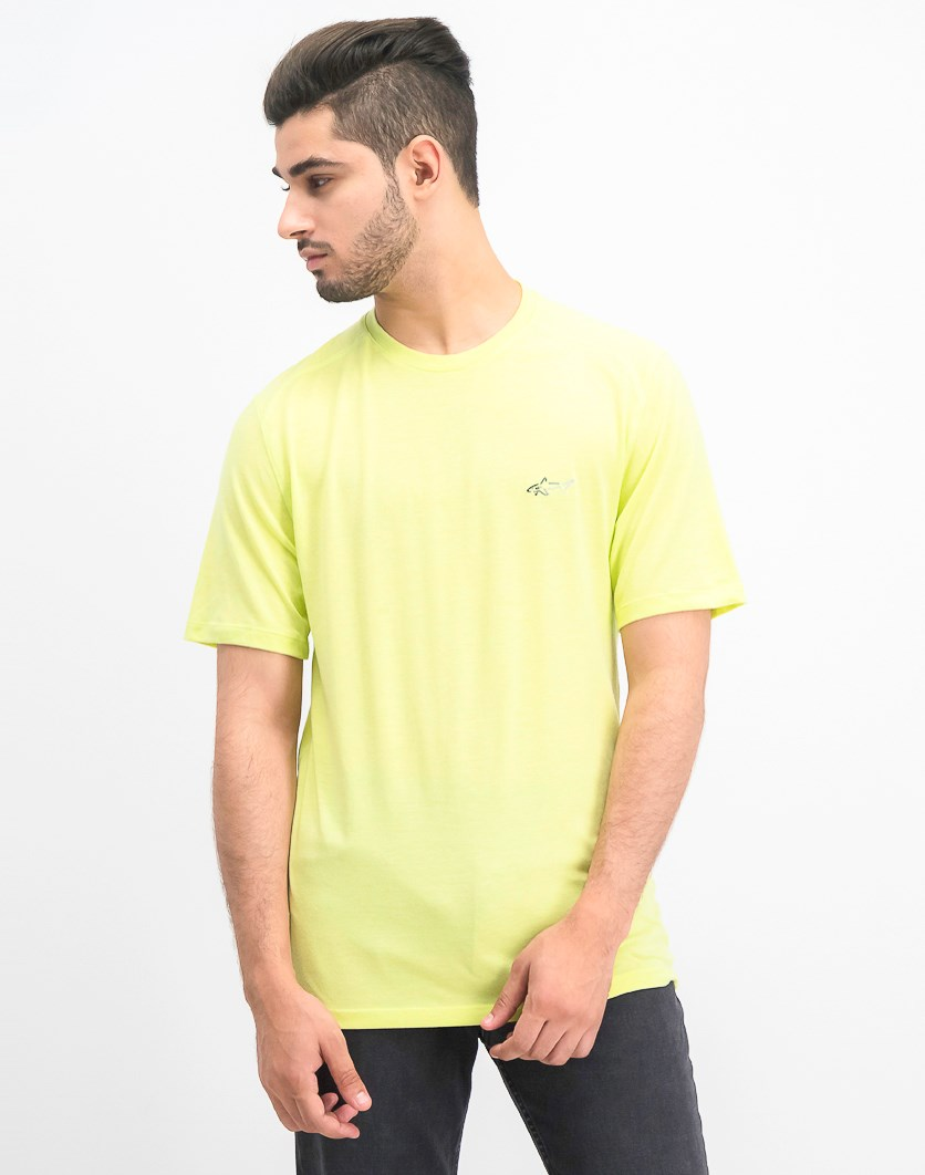 Men's Soft Touch T-Shirt, Lime Dew