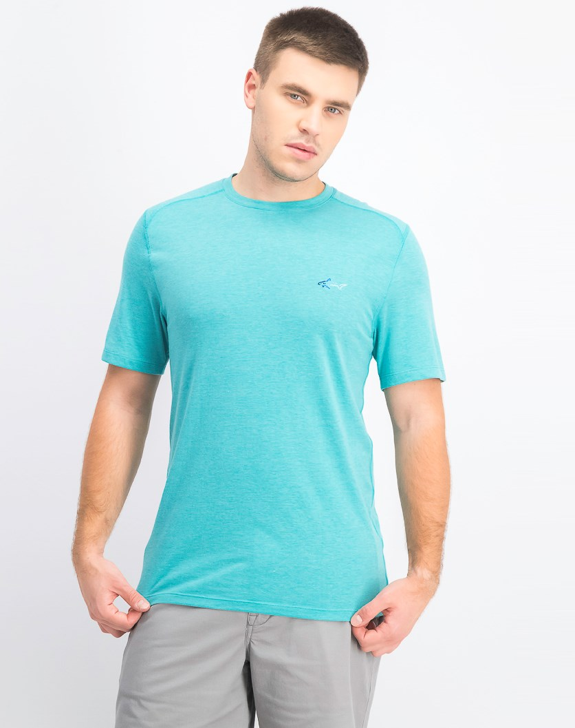 Men's Soft Touch T-Shirt, Teal Glass