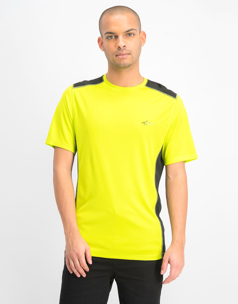Men's Graphic T-Shirt, Lime Punch