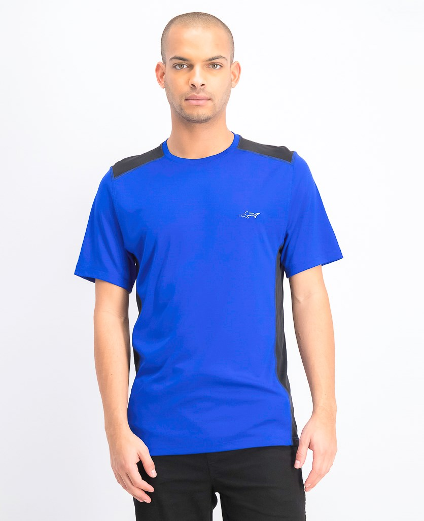 Men's Graphic T-Shirt, Real Cobalt