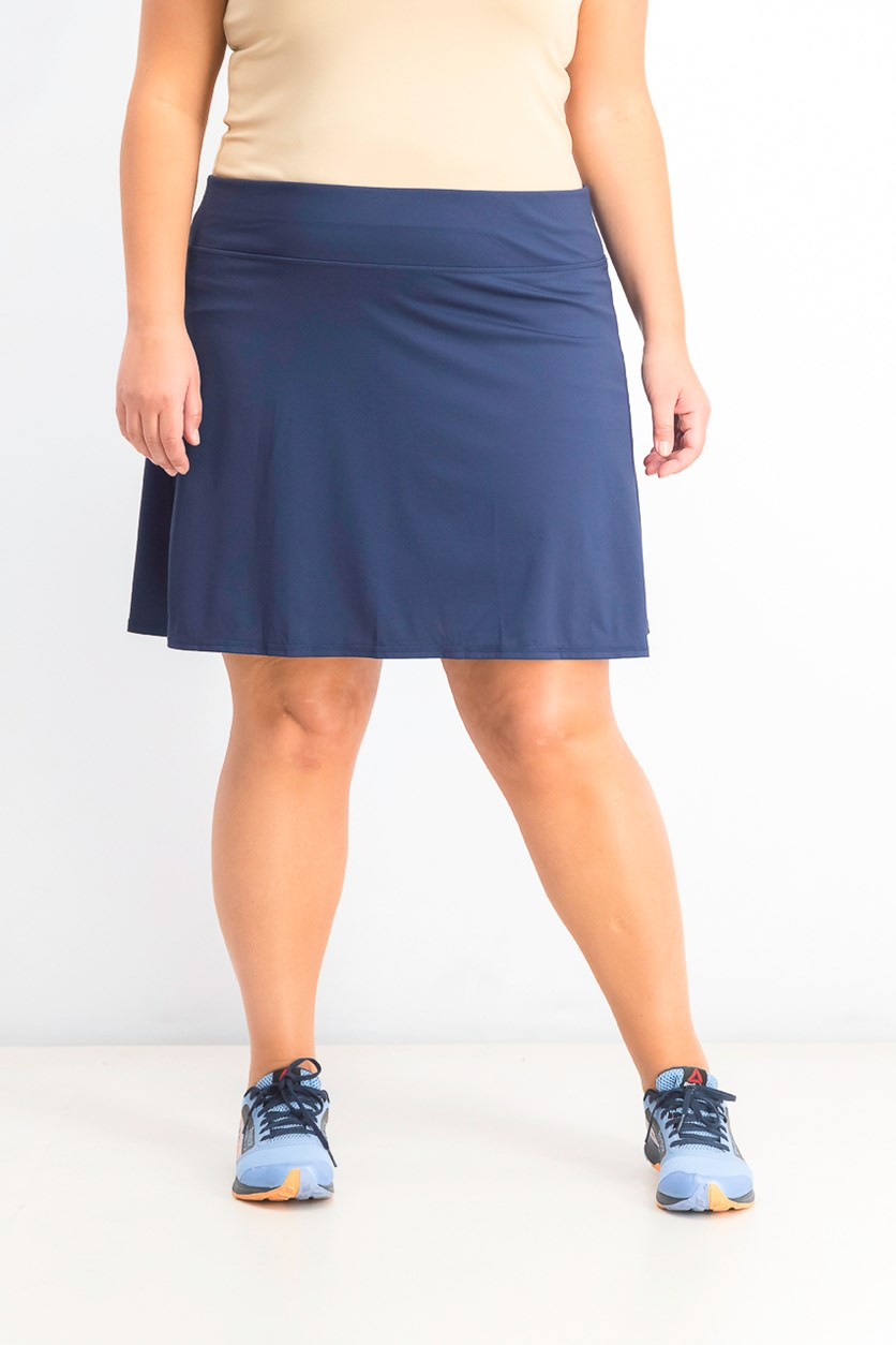 Women's Plus Size Skort, Navy Serenity