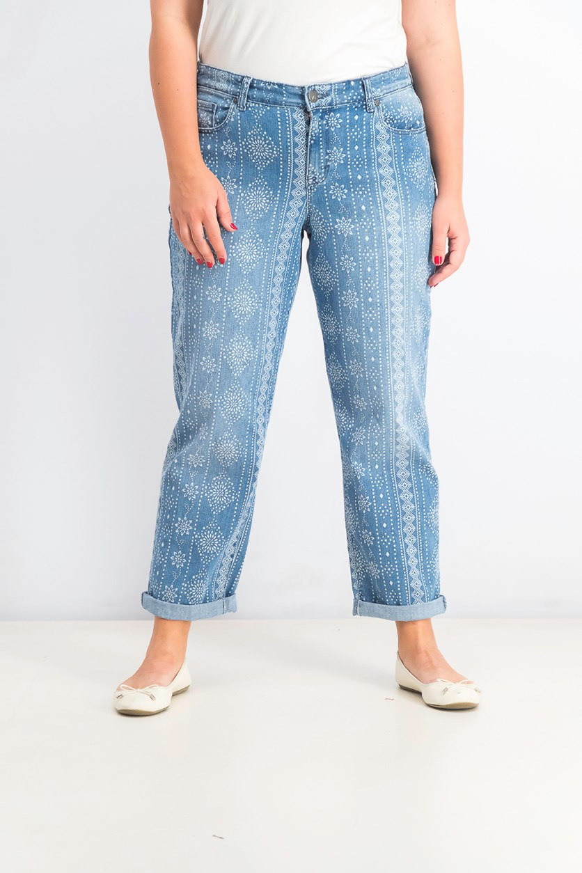Women's Printed Jeans, True Tears