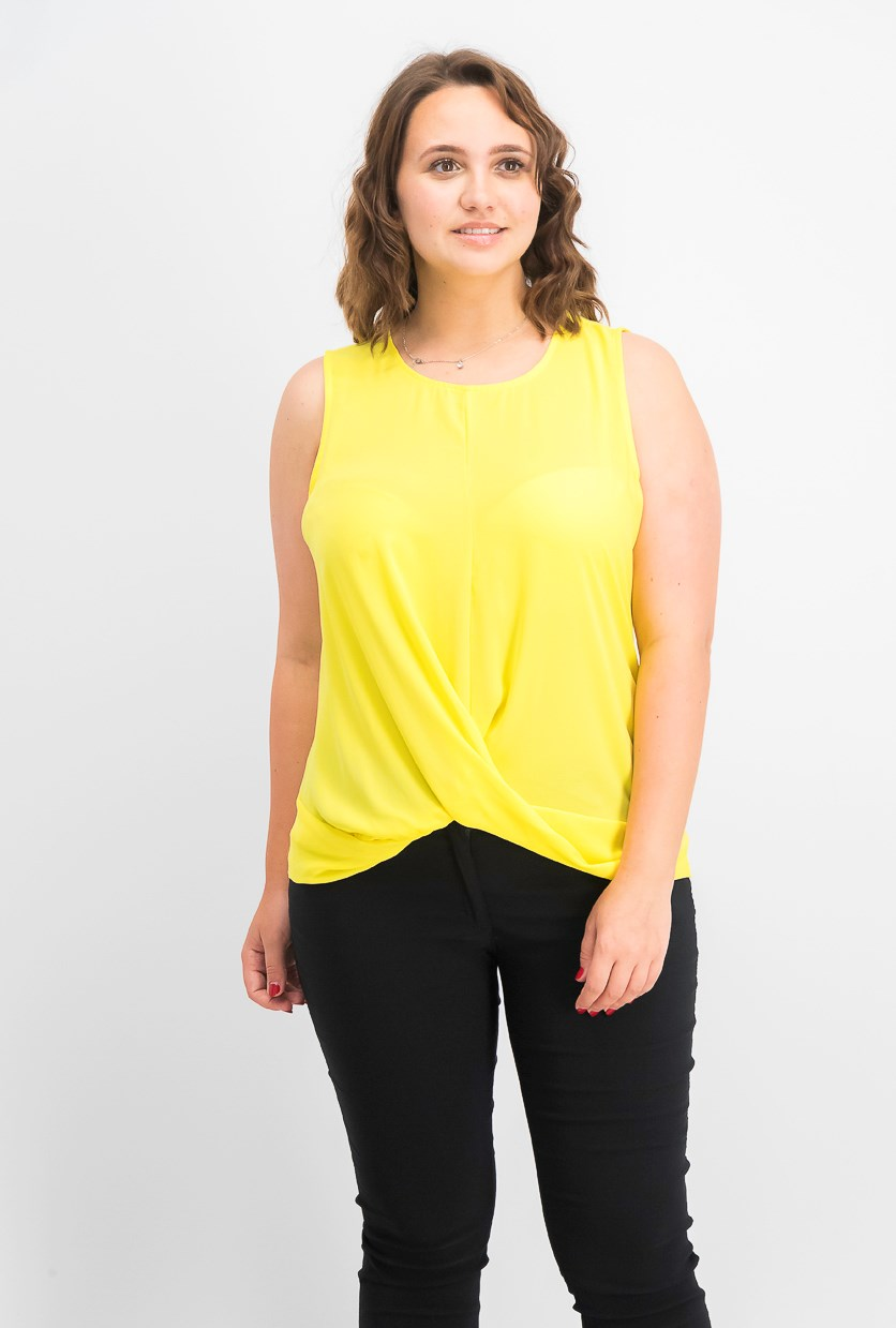 Women's Twist-Front Top, Sunray