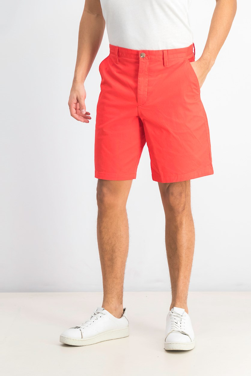 Men's Casual Stretch Shorts, Poinsetta