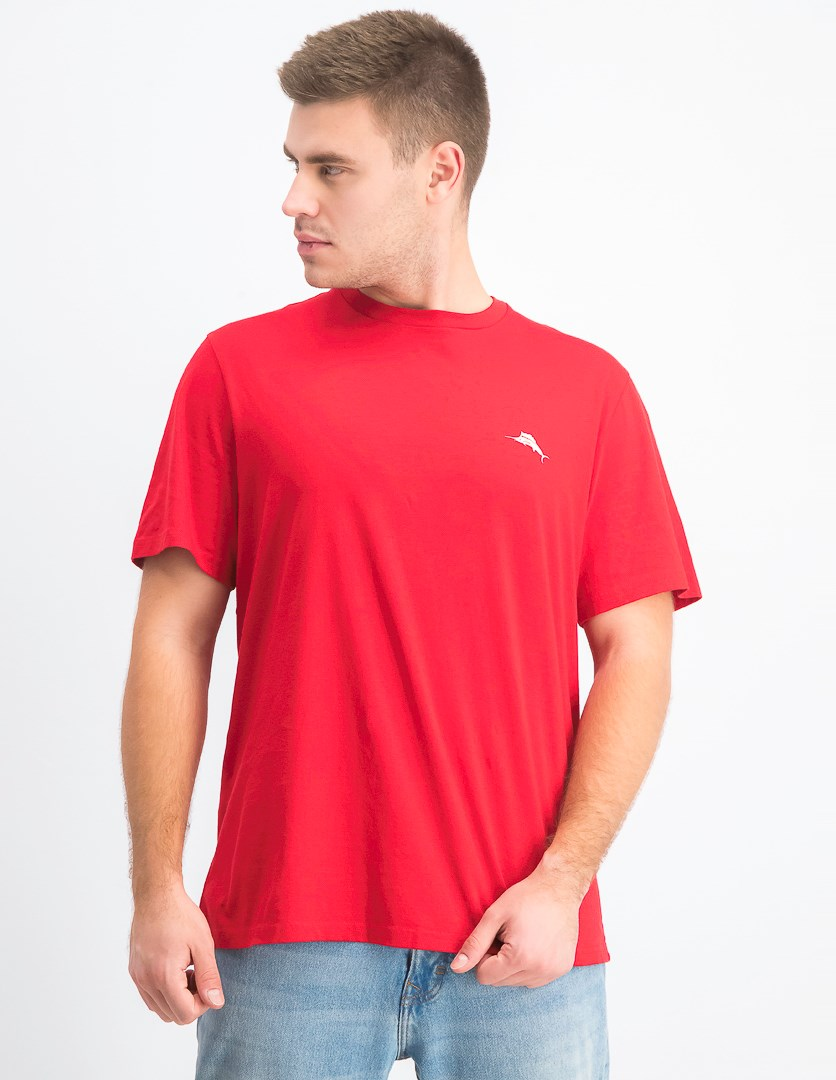 Men's Independence Marlin Logo Graphic T-Shirt, Red