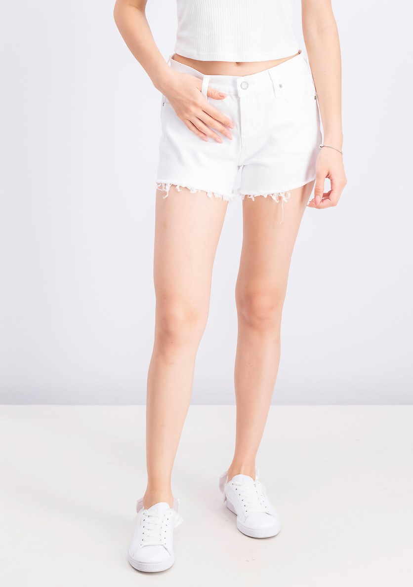 Women's Jeans Gemma Cutoff Denim Shorts, White