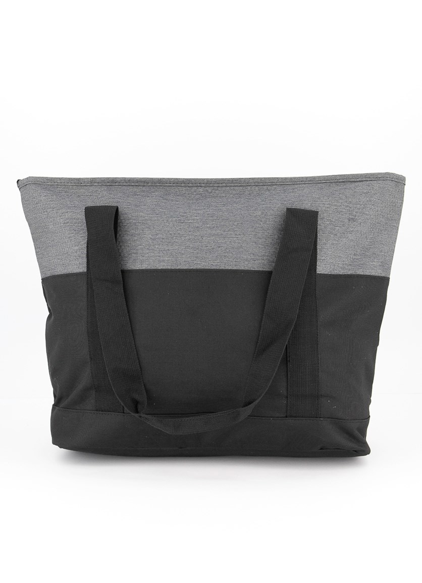 Women's Forever Champ Signal Tote Bags, Gray/Black
