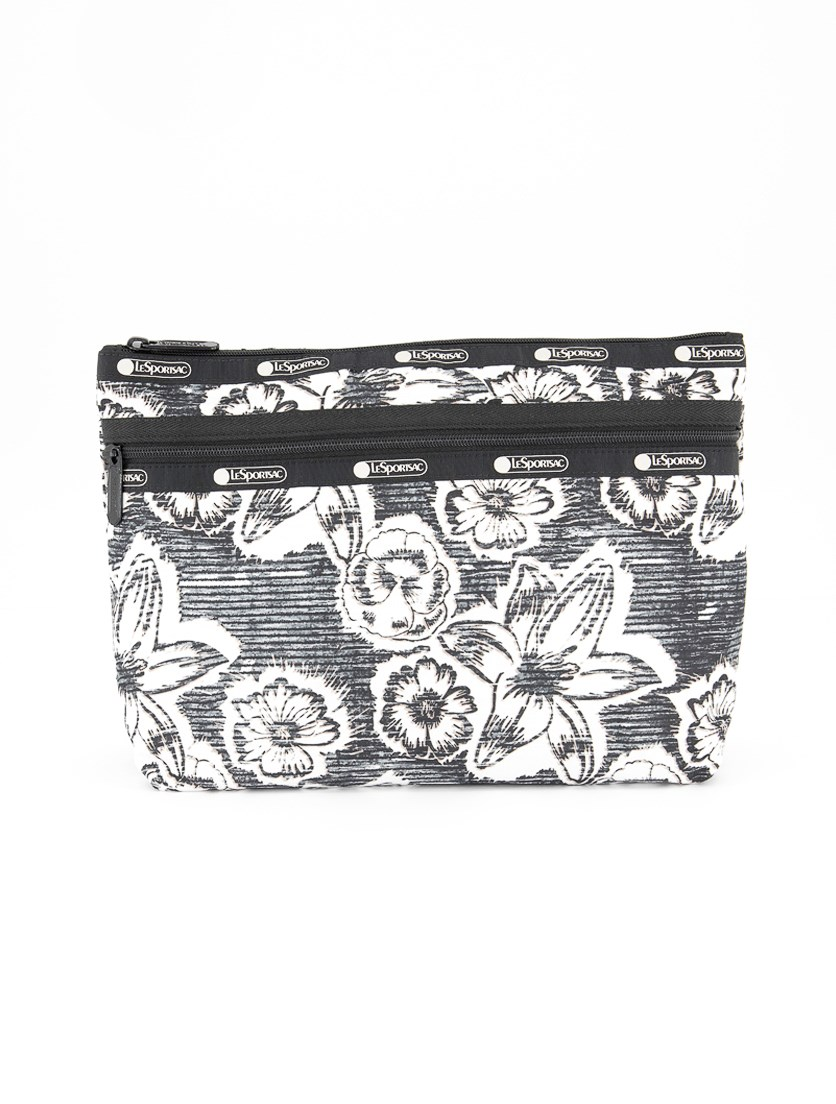 Women's Taylor Large Cosmetic Case, Static Floral