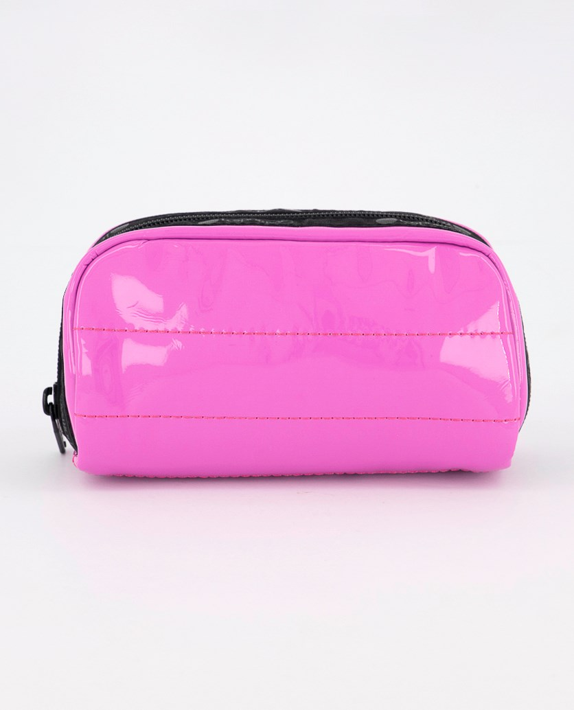 Candace Small Top Zip Cosmetic Case, Acid Punch
