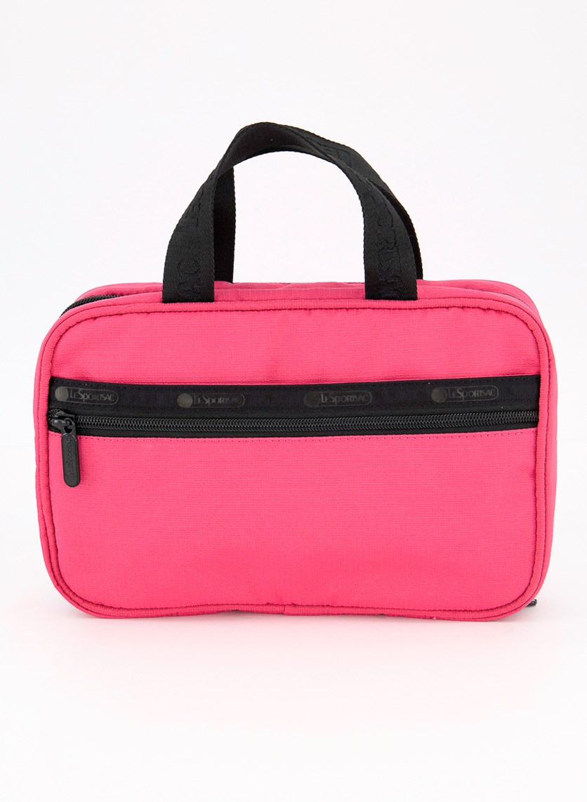 Candace Cosmetic Carrier, Magenta