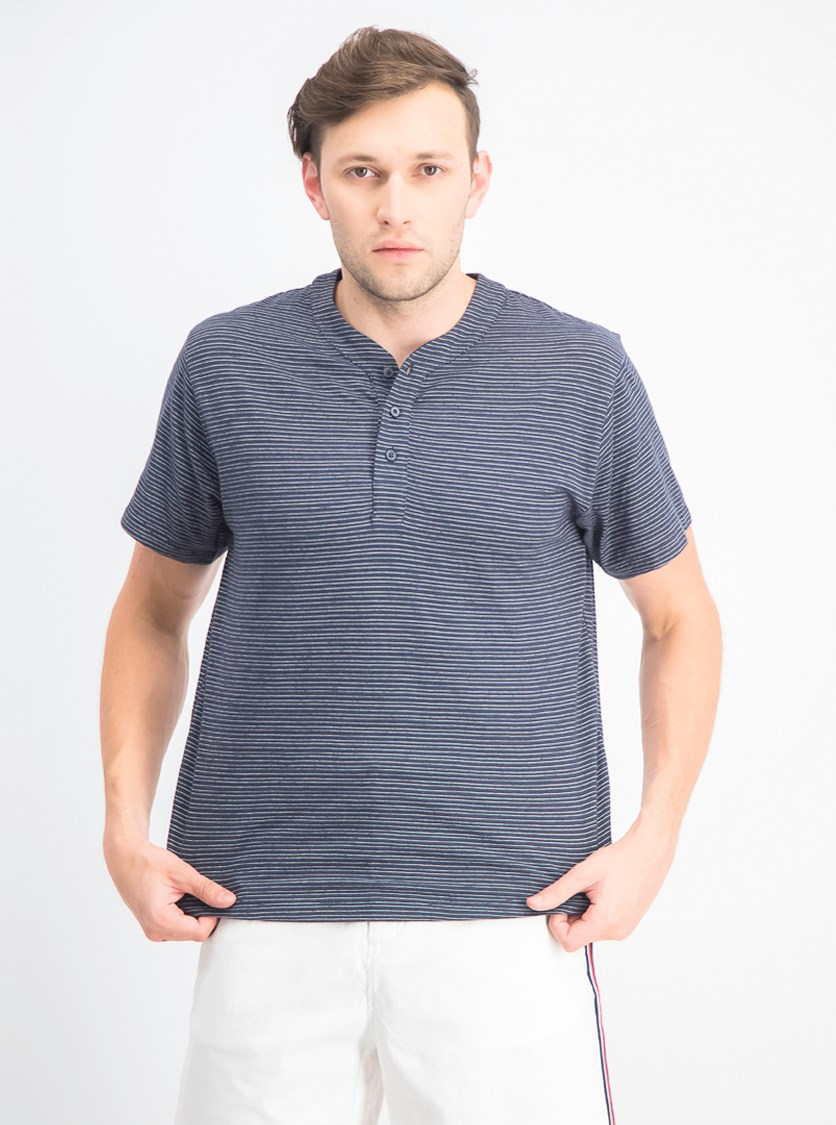Men's Parsons Striped Tee, Navy/Chalk