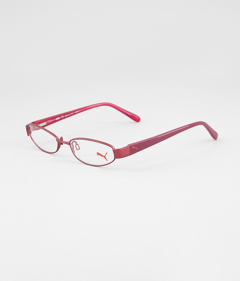 Girl's Frame Eyeglasses, Red