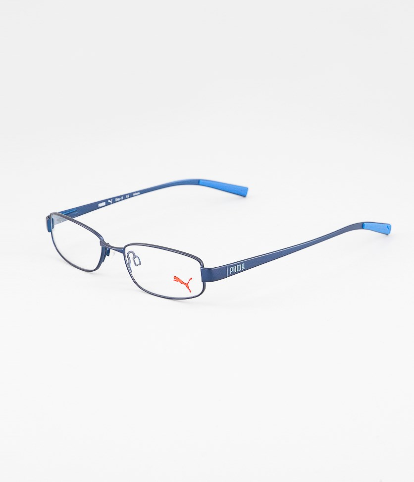 Kid's Boys PU15361 Full Rim Eyeglasses Frame, Blue