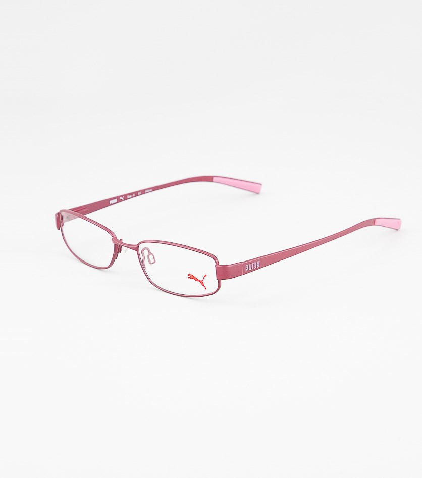 Kid's Girl's PU15361 Full Rim Eyeglasses Frame, Pink