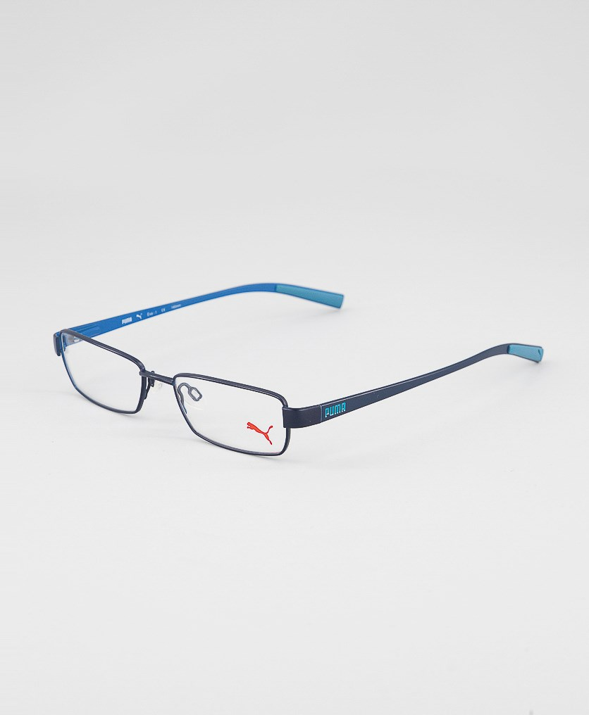 Kid's Boys PU15360 Full Rim Eyeglasses Frame, Navy